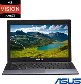 Notebook Asus K45DRVX014R AMD A8-4500M (Quad-Core), 8GB RAM, Radeon HD7470 (1 GB)