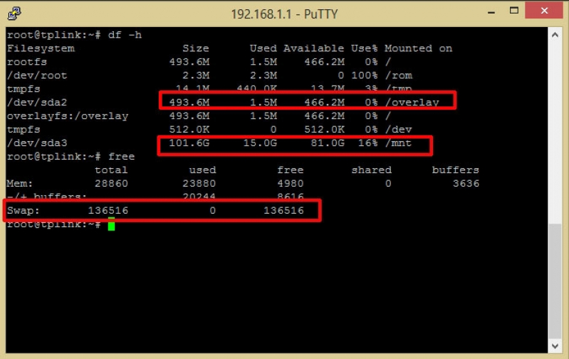 TP-Link WR1043ND - OpenWrt, samba e torrent